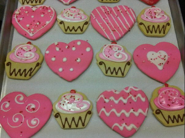 ... Society Bakery Valentineu0027s Day Sugar Cookies