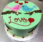 Society Bakery Lovebird Cake