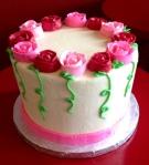 Dozen Roses Cake