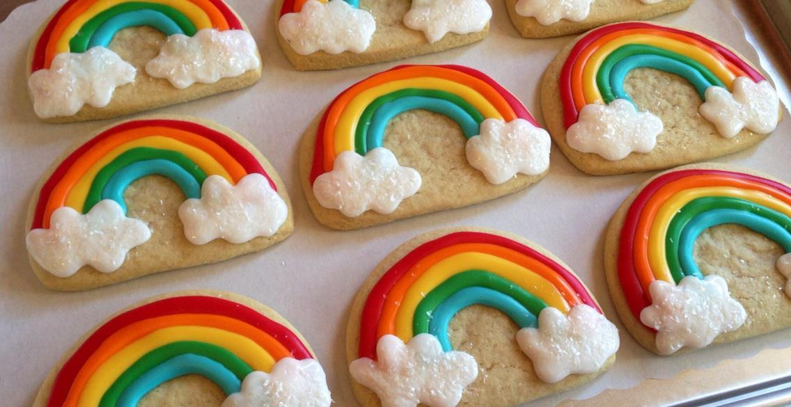 Food Network Rainbow Cookies