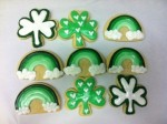 Society Bakery St. Patty Sugar Cookies